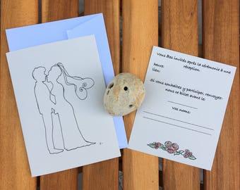 Wedding - love invitation
