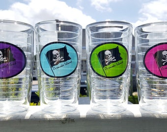 Tervis Tumblers Ocracoke Pirate signature artwork made by me insulated cups 16oz 4 colors available