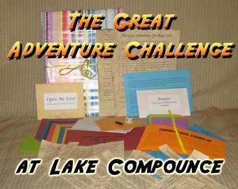 Scavenger Hunt Adventure - Lake Compounce - The Great Adventure Challenge