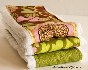 Burp Cloths, Set of 3