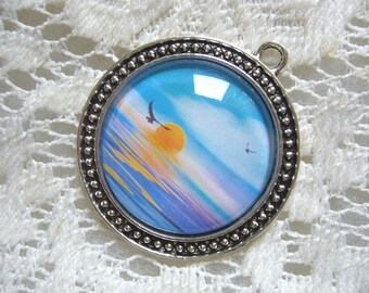 Summer Sunset Pendant Free Shipping in USA