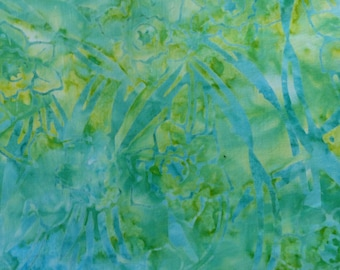Komo - The Gallery - CD-02054-171 - Batiks - Green - Blue - Yellow - Batik