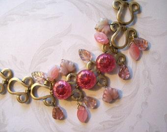 Cafe Bracelet (Old Rose) Free Shipping