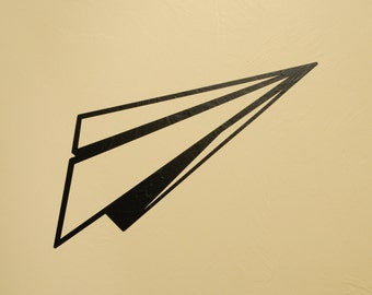 Paper Airplane - Wall Decal