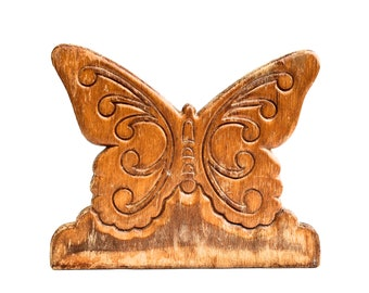 Vintage Butterfly Napkin Holder~ Kitchen decor