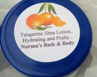 tangerine lotion, skin care, beauty, bath and body, body lotion, lotion, tangerine, handmade lotion, fruity lotion, gifts