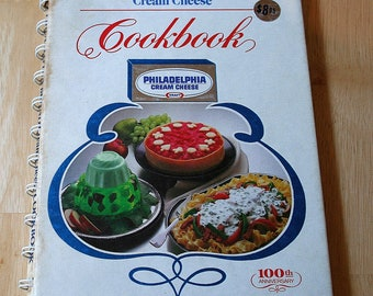 The Philadelphia Brand Cream Cheese Cookbook: With Many New Recipes--100th Anniversary--1981--Shipping Included