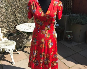 1970's does 1940's summer day dress