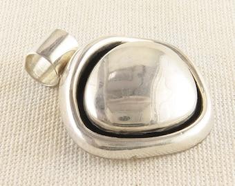 Unique Bubble Pendant 925 Sterling Silver
