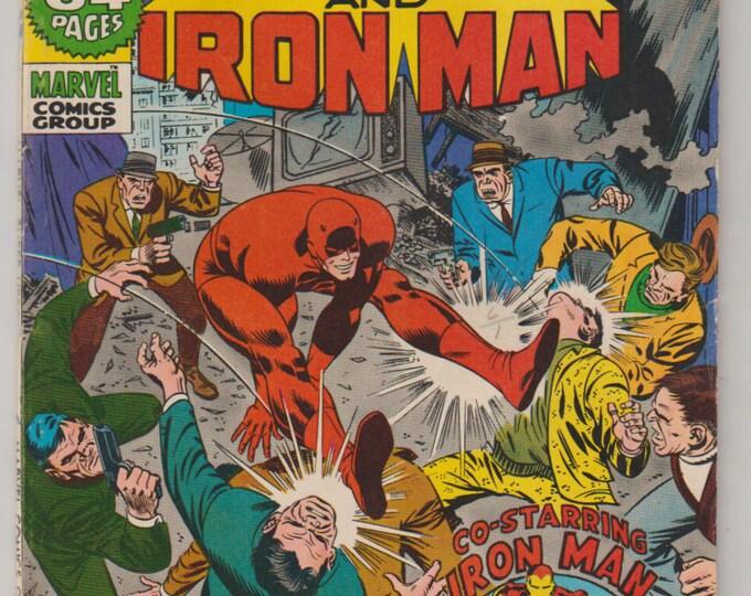 Marvel Super-Heroes; Vol 1, 31, Bronze Age Comic Book. FN- (5.5). November 1971. Marvel Comics.
