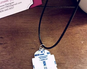 Star Wars R2-D2 Charm Necklace