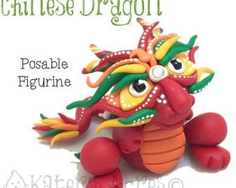 Polymer Clay CHINESE DRAGON Tutorial - Also for Fondant, Sugar Paste, & Other Sculpting Mediums