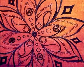 """Mandala Art Print 8""""x10"""" Series 1"""