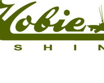 Hobie Fishing  Vinyl Fishing Decal Sticker Boat Decal Tournament Fishing Kayak Decal