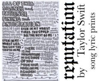 Dress typography print