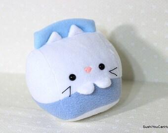 Milk Kitty Cat Carton plush- Ready to ship!