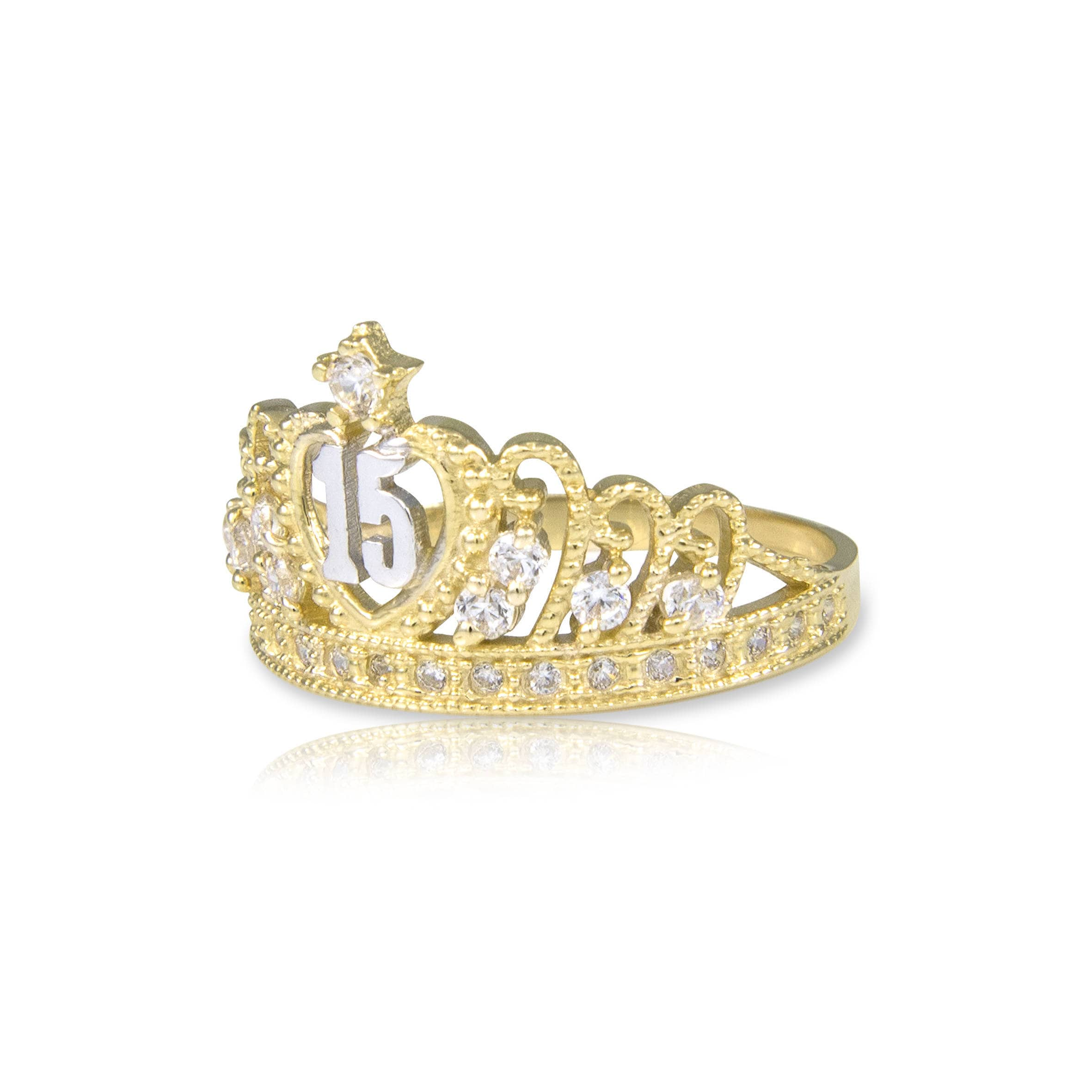 years without pinterest quinceanera era pin only sweet it now gold quincea rings buy crown ring solid number yellow