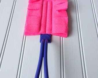 Set of 2 Reusable Duster Covers / Custom Dust Covers
