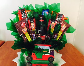 Fore! The Golfer Gift Bouquet