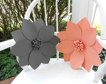 Giant Paper Flower Wedding Decor Photo Backdrop