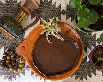 Monkey pod, wood, monstera, leaf, carved wood tray, plant carving, plant decor, junglalow, boho, teak