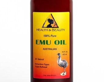 32 oz EMU OIL AUSTRALIAN Triple Refined Organic 100% Pure