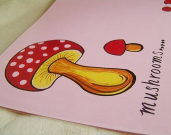 """Σουπλά """"Mushrooms..."""" / Table Decor Placemats """"Mushrooms"""" / Winter Placemat"""