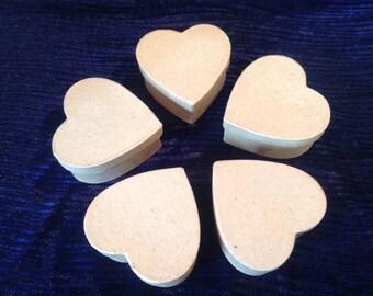 Valentines  craft supplies! Heart boxes