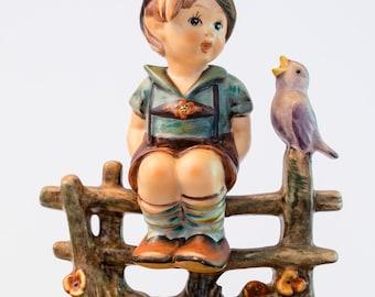 """Hummel Goebel Figurine, """"Wayside Harmony"""", TMK 4."""