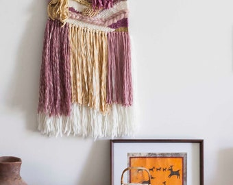 Woven Wall Hanging | Weaving | Woven Tapestry