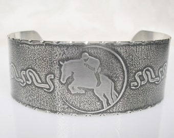 Equestrian Jewelry Horse Bracelet Horse Jewelry Sterling Silver Bracelet Silver Horse Jewelry