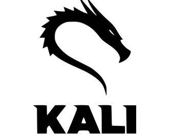 "Kali Linux Logo Vinyl Decal for cars, windows, laptops, or any hard smooth surface. 3"", 6"", 9"", or 12"""
