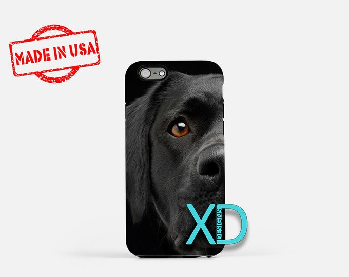 Black Lab iPhone Case, Dog iPhone Case, Black Lab iPhone 8 Case, iPhone 6s Case, iPhone 7 Case, Phone Case, iPhone X Case, SE Case