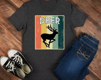 Deer Retro Shirt/ Shirt / Tank Top / Hoodie / Retro Shirt / Vintage Shirt / Retro Tee / Retro Outfits / Retro Clothes