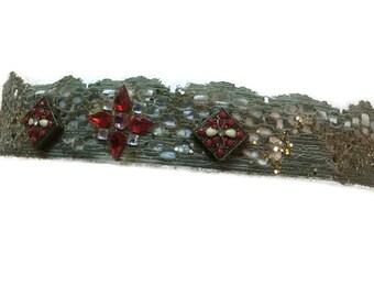 Jewel Crown Lace Headband