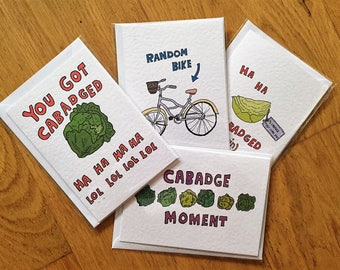 Cabadge Moment card set