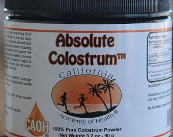 Absolute Colostrum