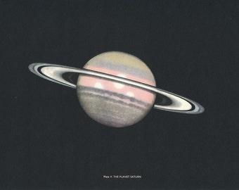 1959 Saturn Vintage Astronomy Print