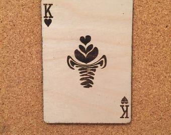 King of hearts - Rosetta invert three leaf tulip