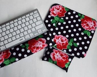 floral desk set etsy