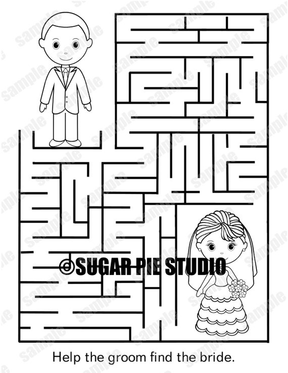 Easy Maze Coloring Pages Printable - Worksheet & Coloring Pages