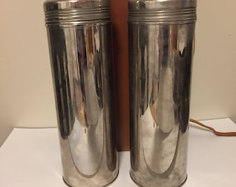 Antique Landers Frary & Clark thermos set Patn 1914