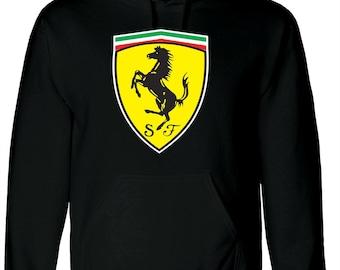 Ferrari Hooded Sweatshirt Hoodie F1 Motorsport Supercars Sizes S-2XL M1
