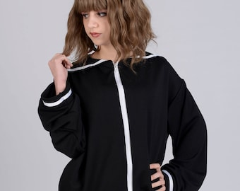 Ribbobasics Sailor Jacket (Black)