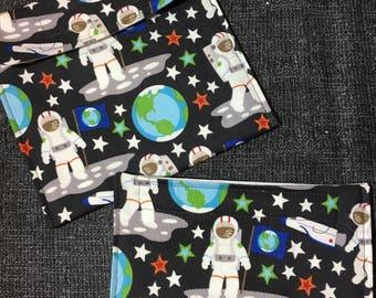 Spacewalk Reusable Sandwich Bag, Reusable Snack Bag