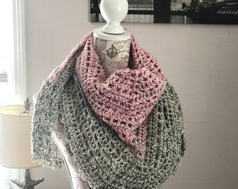 Cotton Misty summer shawl