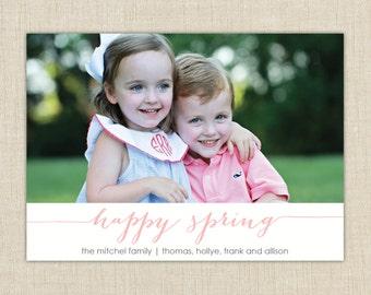 Happy Spring Photo card