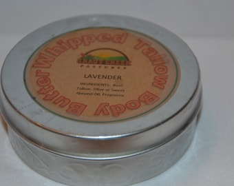 Whipped Tallow Body Butter - Lavender - 4 oz. - Essential Oil