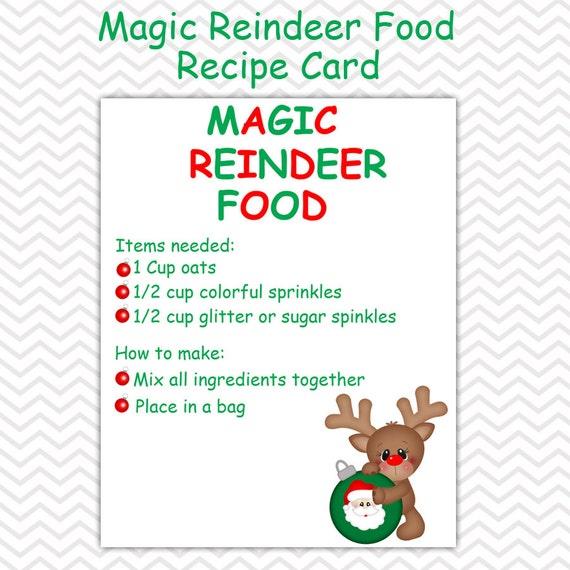Christmas Magic Reindeer Food