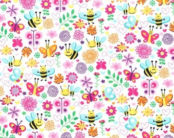 quilter's cotton, Michael Miller Busy Bee - 1 yard